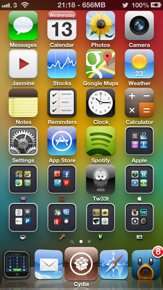 4x6 iphone 5 iconoclasm layout iphone. Black Bedroom Furniture Sets. Home Design Ideas