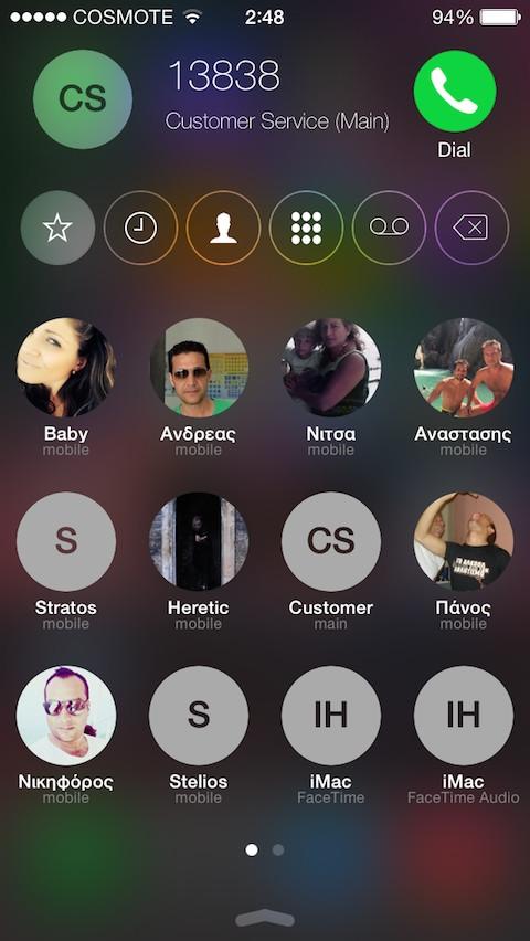 CallBar (iOS 9/8/7)