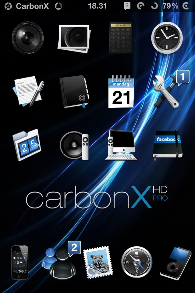 CarbonX Pro for IOS5 Carbonxpro1