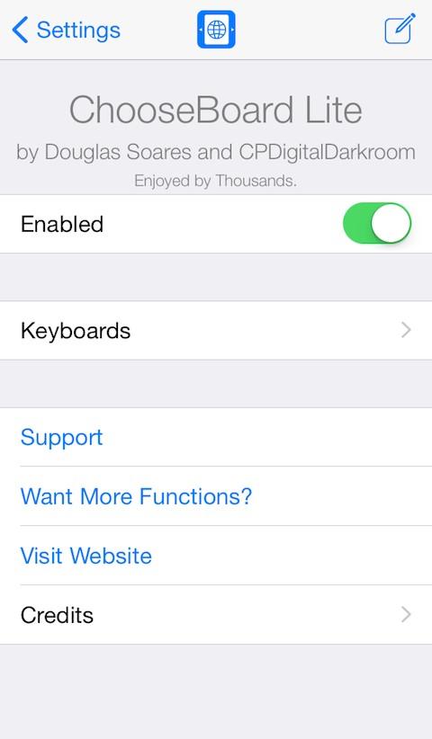 ChooseBoard Lite - TheBigBoss org - iPhone software, apps