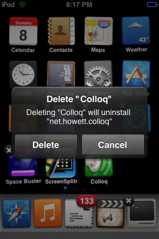Delete Colloq?