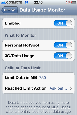����  Data Usage Monitor