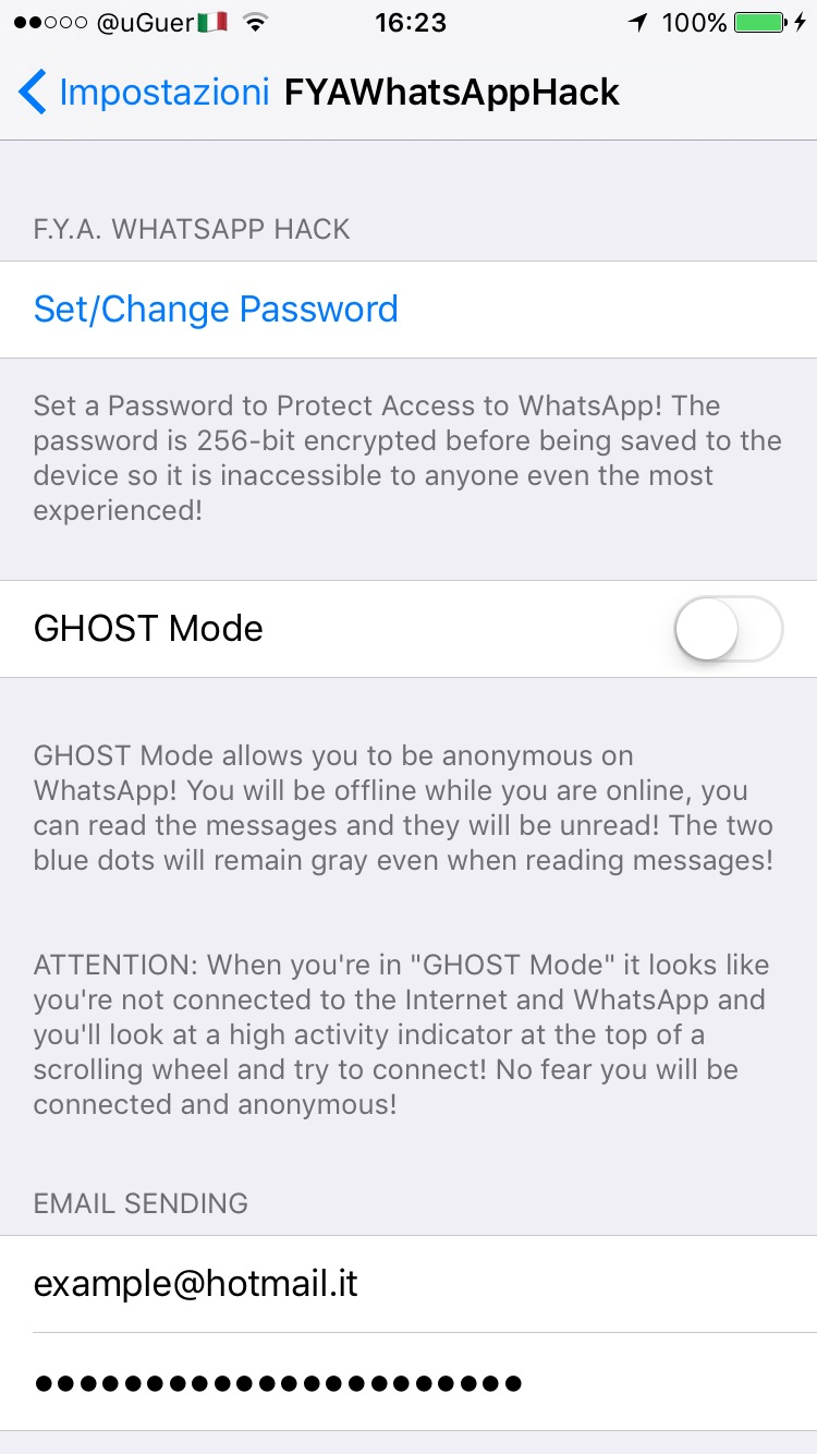 whatsapp ausspionieren cydia