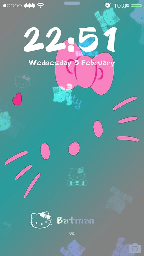 Hello Kitty Dynamic Theme Cydia