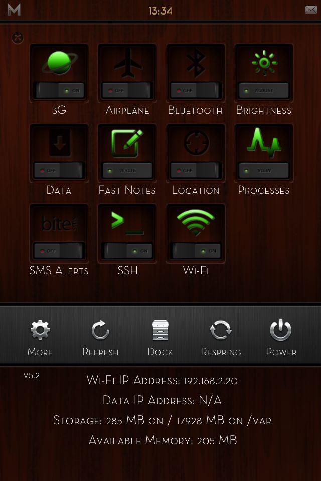 [WinterBoard]: ��� iMatte Premium - Dark Wood Edition