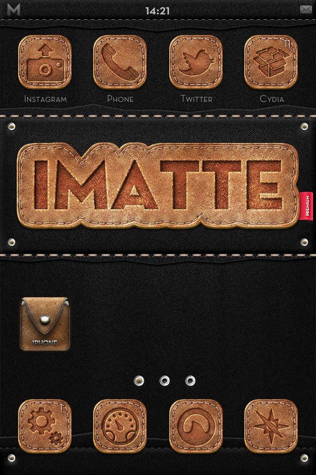 [WinterBoard]: ��� iMatte Premium - Leather & Denim Edition
