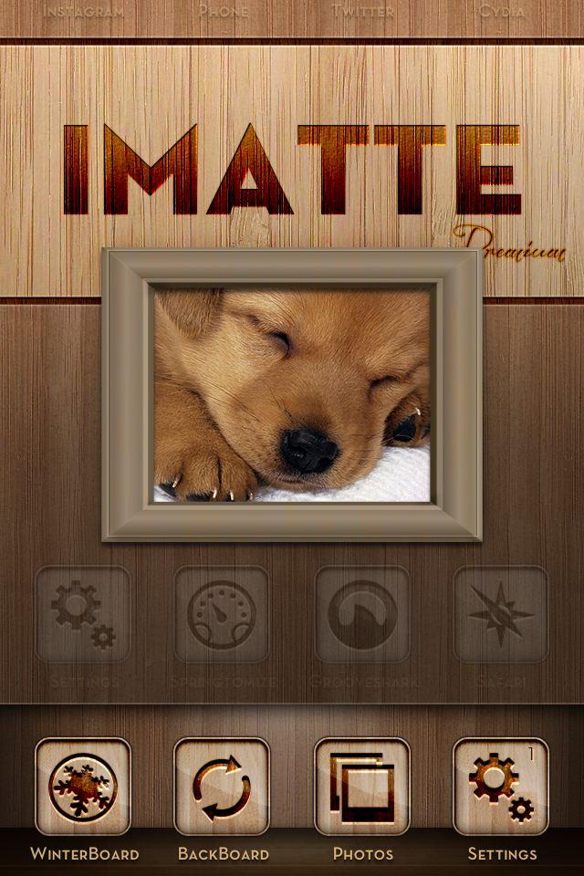 [WinterBoard]: ��� iMatte Premium - Light Wood Edition