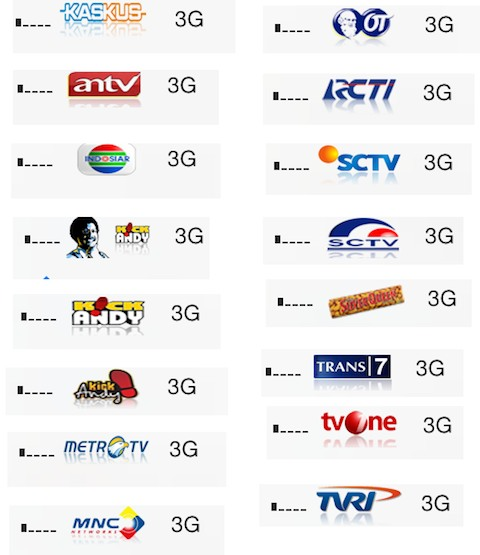 Indonesia TV Logos for Zeppelin - TheBigBoss org - iPhone
