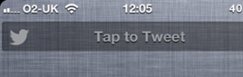 ���� iOS 6 Twitter Widget for NotificationCenter