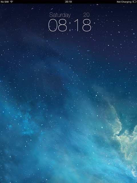 Ipad Lock Screen Ios 7 Ios 7 Lockscreen Ipad