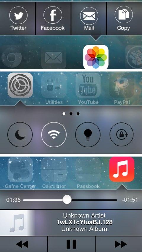 iOS 7 Velox Theme - TheBigBoss org - iPhone software, apps