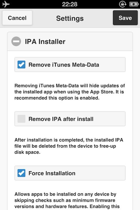 Download IPA Installer deb Cydia Crawler