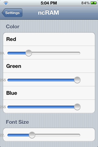 ���� ncRam for NotificationCenter �� iOS 5