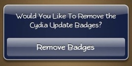���� No Cydia Badges