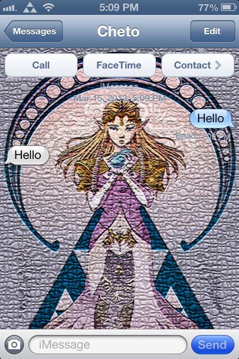 Legend of Zelda OOT by Cheto - TheBigBoss org - iPhone