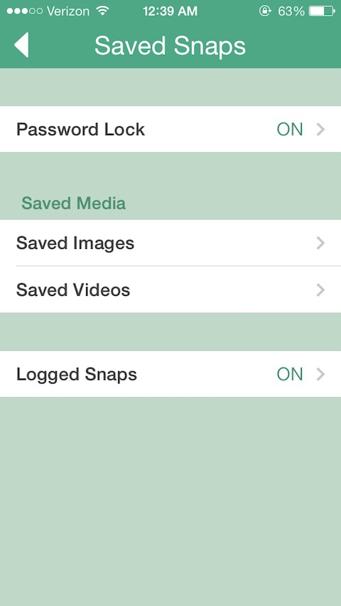 Phantom for Snapchat - TheBigBoss org - iPhone software