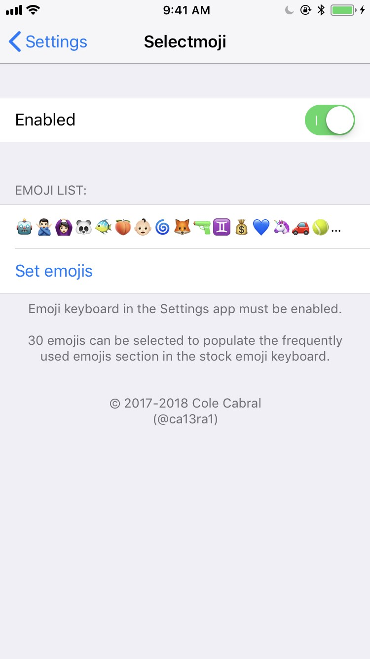 Selectmoji (iOS 6 - 9 3) - TheBigBoss org - iPhone software