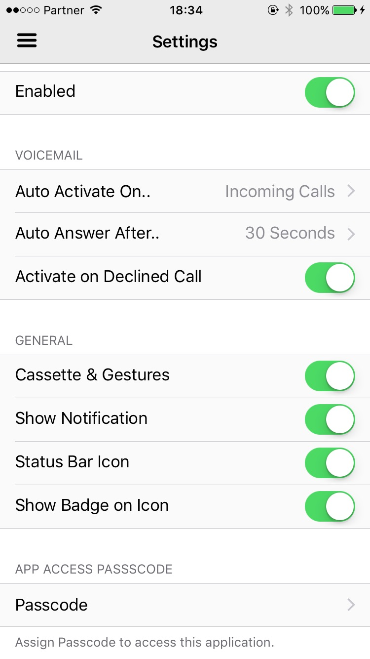 Super voicemail cydia configure options from settings kristyandbryce Gallery