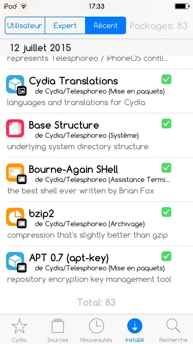 Discussion] My top 60 + tweaks iPhone X iOS 12 : jailbreak