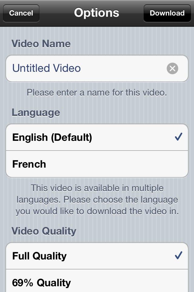 universal video downloader repo