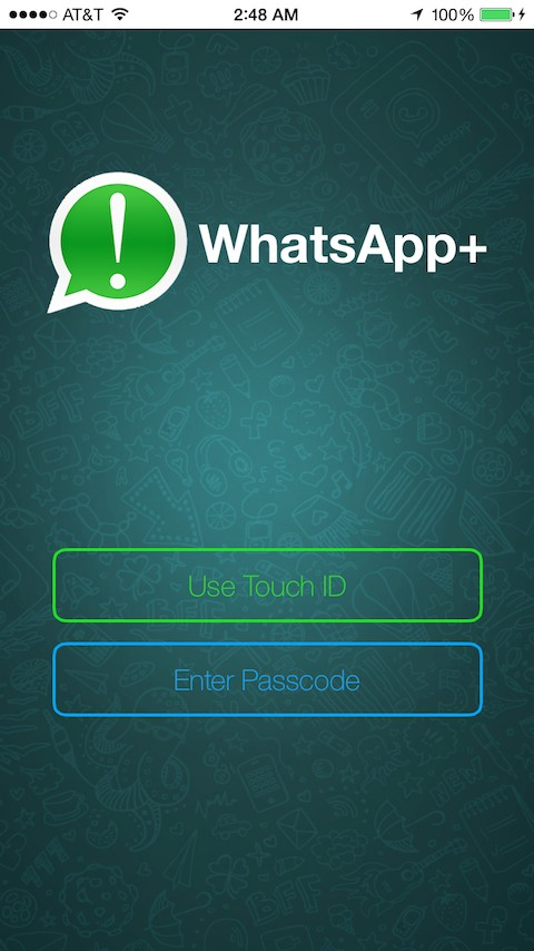 WhatsApp ++ · Cydia