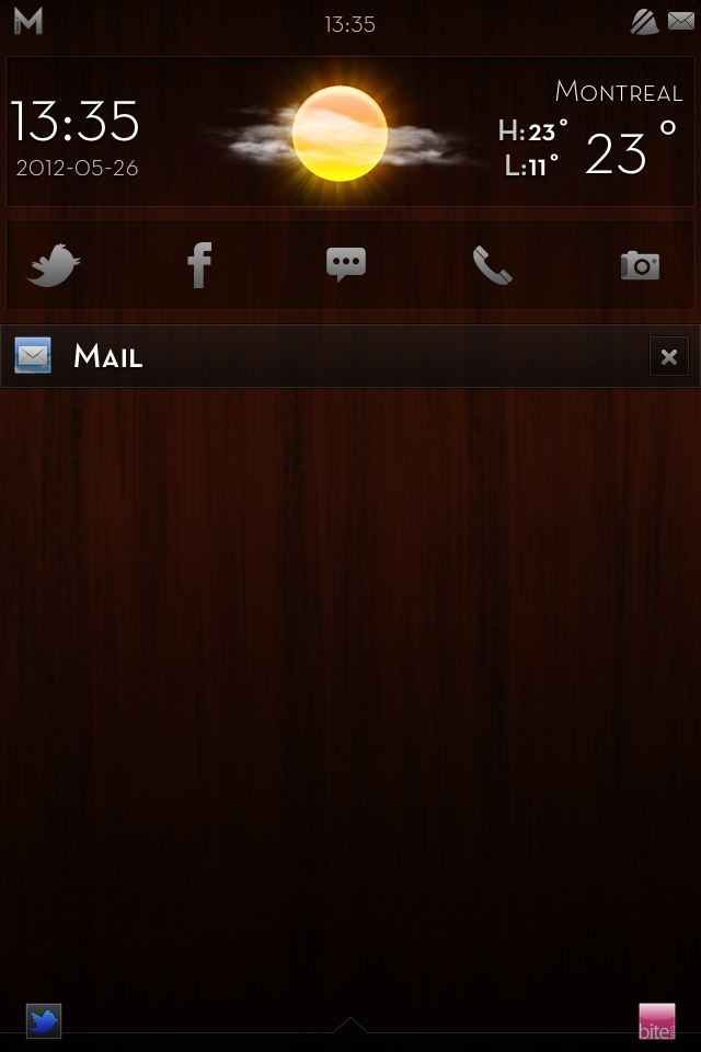 [WinterBoard]: ثيم iMatte Premium - Dark Wood Edition