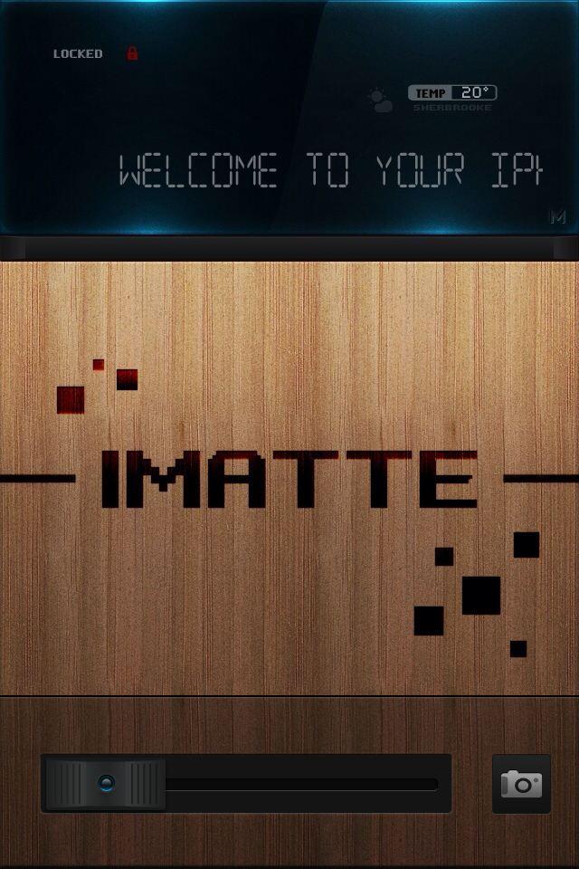 [WinterBoard]: ثيم iMatte Premium - Digital Edition