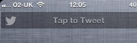 أداة iOS 6 Twitter Widget for NotificationCenter