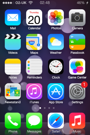 iOS 7 Non-Retina Theme - TheBigBoss org - iPhone software