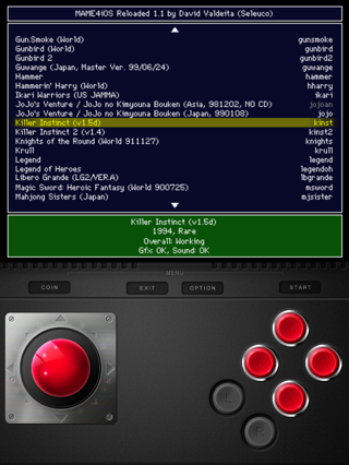 MAME4iOS Reloaded - TheBigBoss org - iPhone software, apps