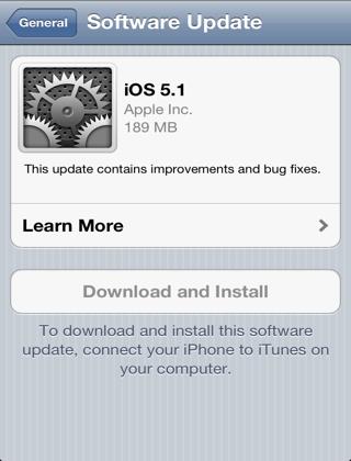 أداة Software Update Killerلـ iOS 5