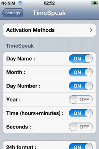 أداة TimeSpeak لنطق الساعة