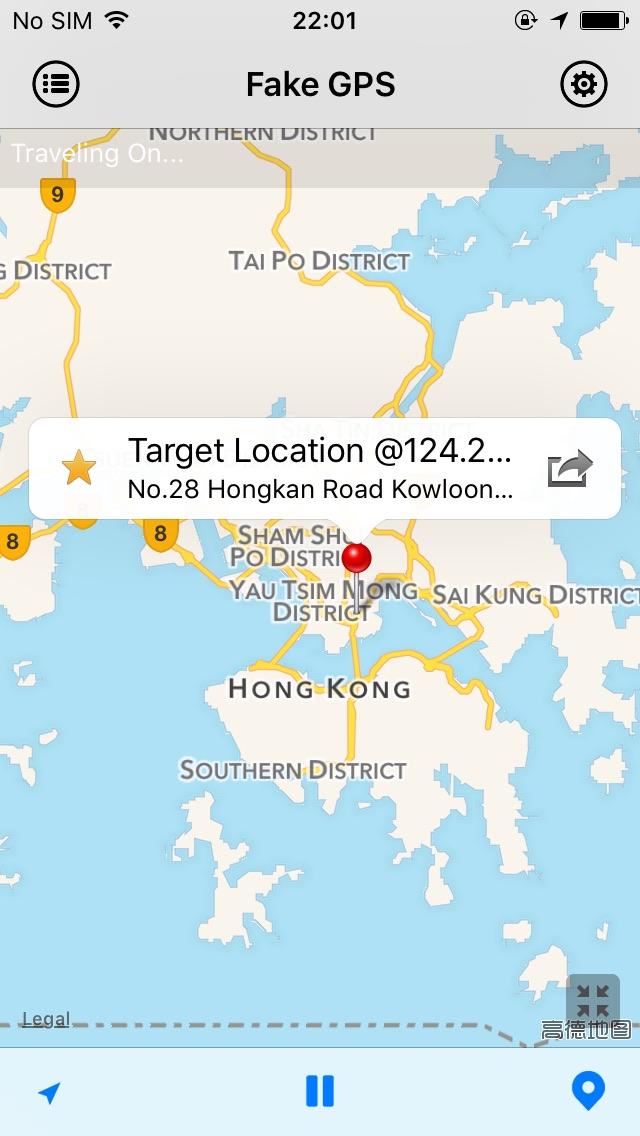 Fake GPS Pro(定位修改器)for iOS 9-世界任我行,天下游不停- TheBigBoss